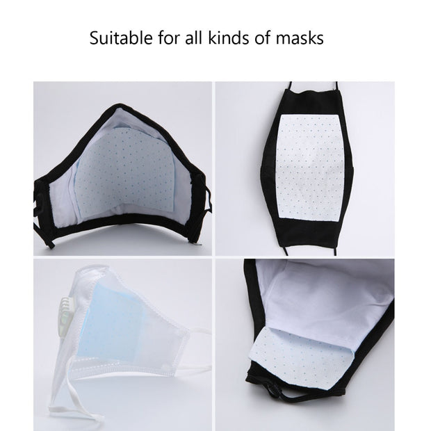 8pcs PM2-5-Filter-paper-Anti-Haze-mouth-Mask