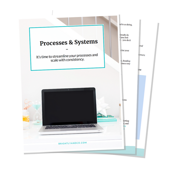 Creating Processes & Systems in your business