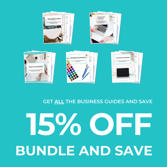 Business Guides Bundle & Save 15%!