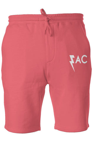 EAC Fleecy Lounge Shorts - Coral