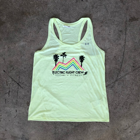 EFC Under Armour Coachella Women's Tank in Yellow