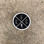 EFC X Iron-On Patch