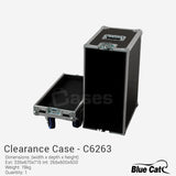 C6263 - Full-Touring Flight Case by Blue Cat - Only 1