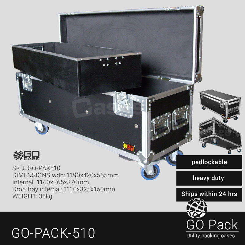 GO-PACK Small to Large Cases