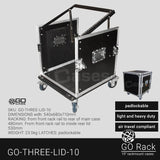 "GO MXR ""Mixer"" Racks/3 Lidded Racks"