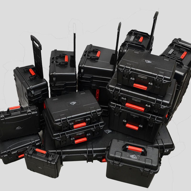 TREKA Plastic Molded Cases
