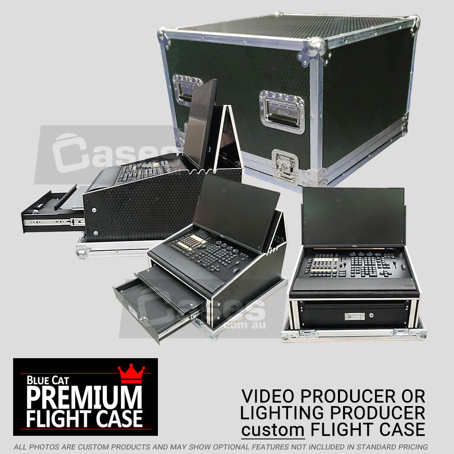 Video Producer/Lighting Engineer console case - 100% custom!
