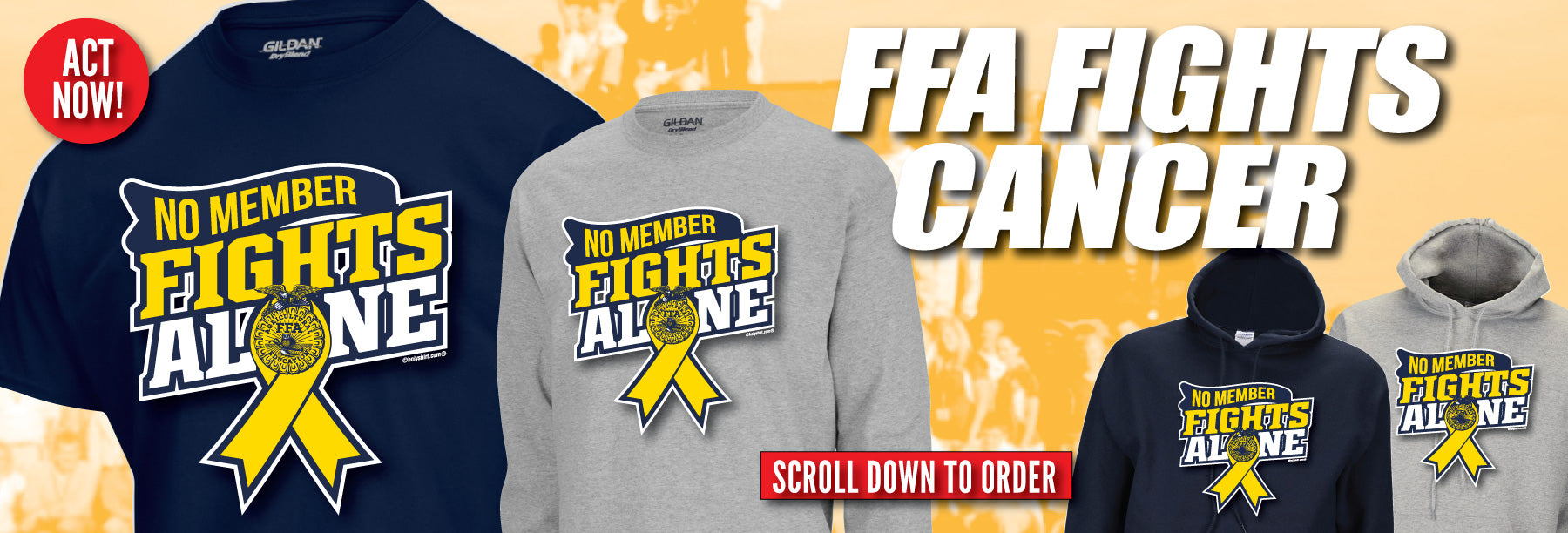 NYS FFA No Member Fights Alone Campaign