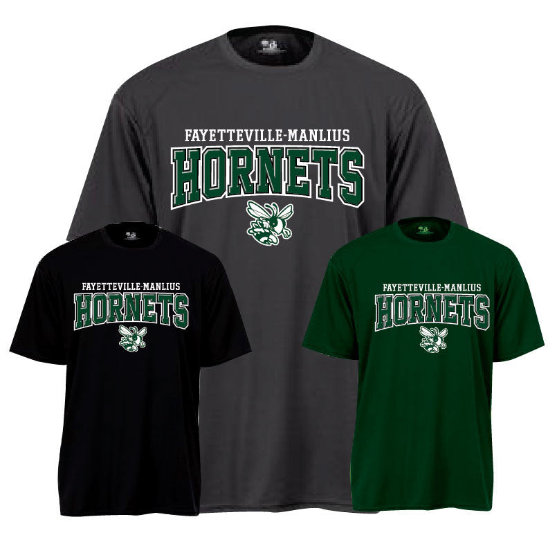 FM Hornets Performance Dry-Wick Performance S-Sleeve T-Shirts