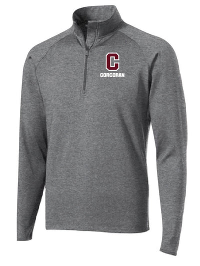 Dry-Fit 1/4 Zip Pullover Tops - Adult/Men's