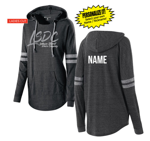 Ladies Hooded Low Key Pullover - PERSONALIZED