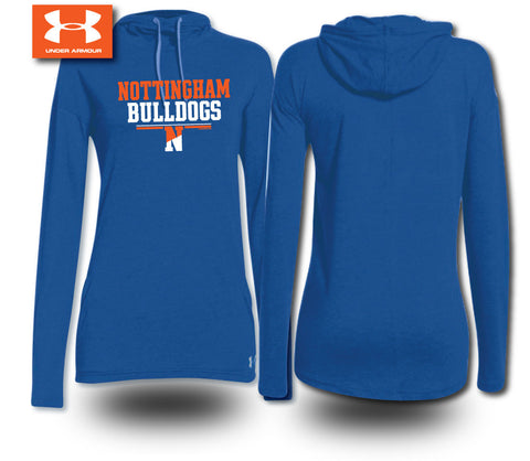 Under Armour® Ladies Hooded T-Shirt