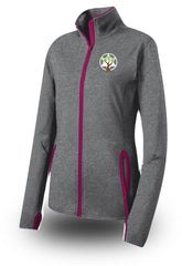 Ladies DRY-FIT Stretch Full Zip Warmup Jackets