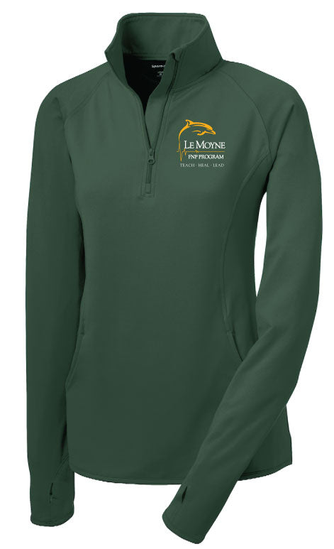 SportTek 1/4 Zip Dry-Fit Warmup Tops - FNP PROGRAM