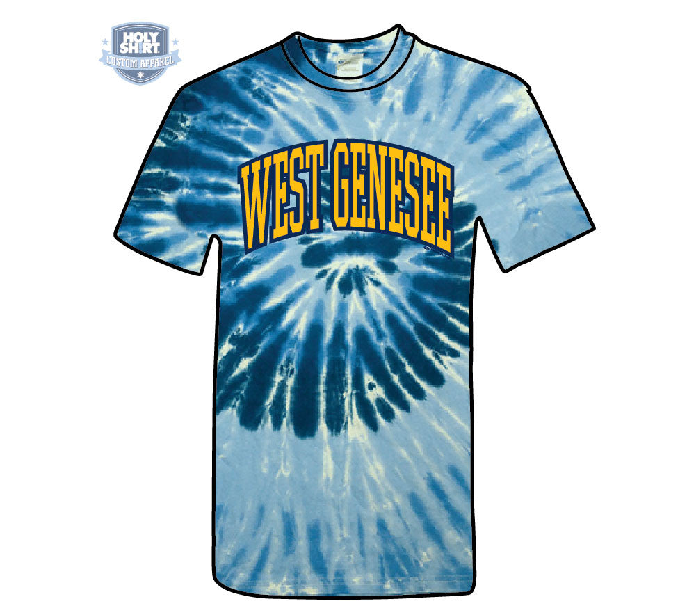 East Hill Elementary Shortsleeve Tie-Dye T-Shirts