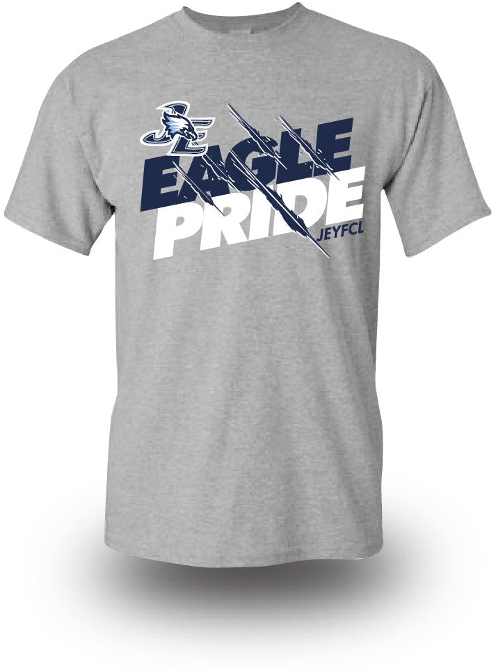 EAGLE PRIDE - S-Sleeve Cotton T-Shirts