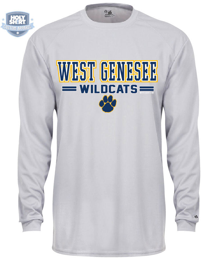 "East Hill Elementary ""WG Wildcats"" Performance Longsleeve T-Shirts"