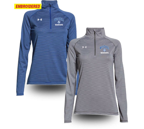 Under Armour® Ladies Striped 1/4 Zip