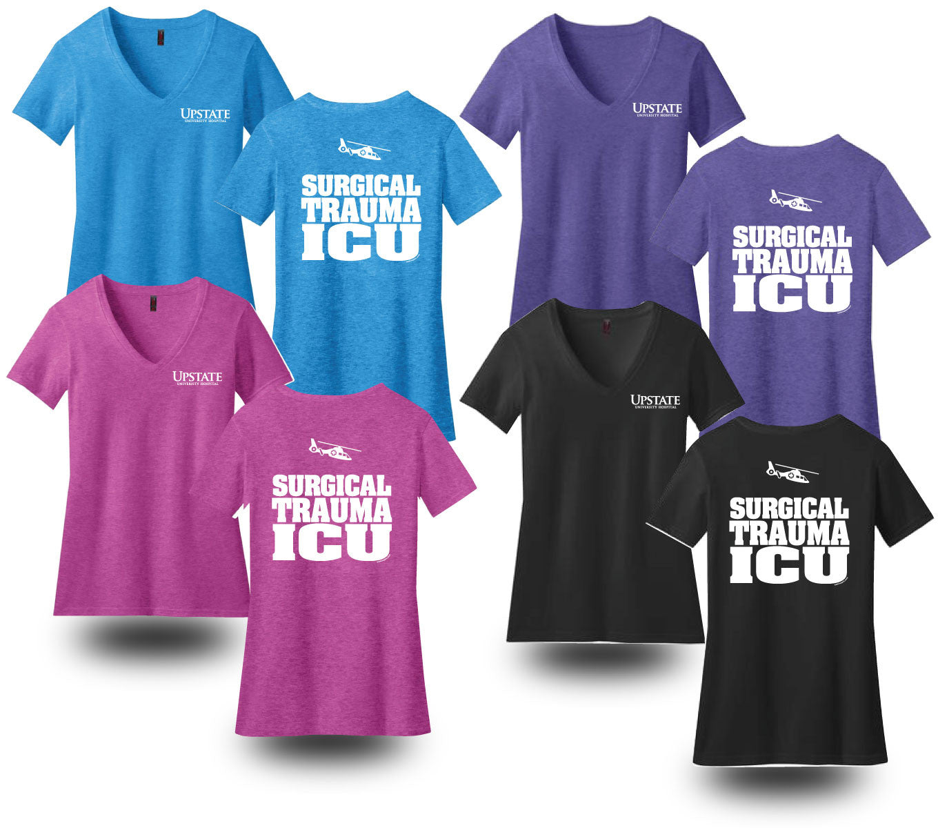 Women's Cut Supersoft V-Neck T-Shirts