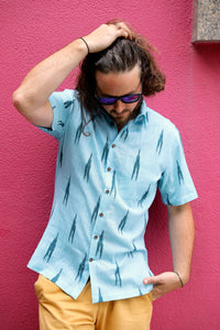 Blue Lagoon Short Sleeved Shirt