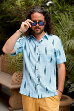 Load image into Gallery viewer, Blue Lagoon Short Sleeved Shirt