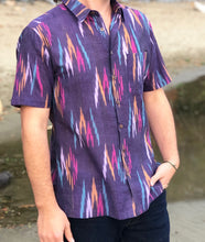 Load image into Gallery viewer, Rio | 100% Cotton Ikat Men's Shirt