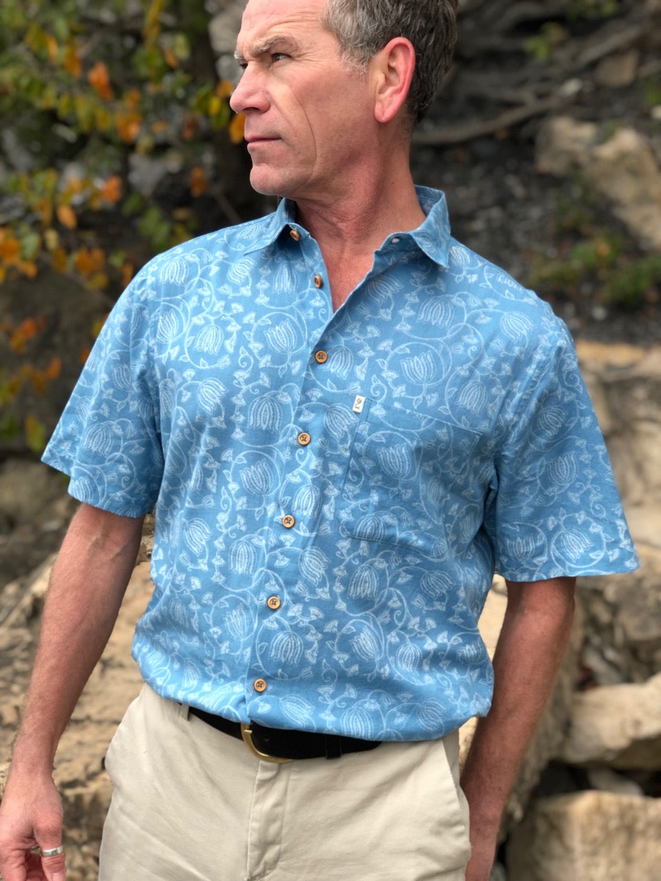 Bahia | 100% cotton summer shirt