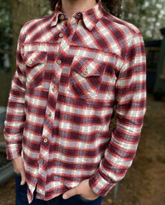 Out West - Western Flannel Shirt