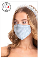 Light Blue Unisex Face Mask