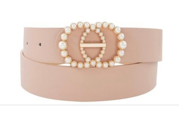Blush Pearl Belt
