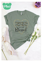 """Blessed"" t-shirt Plus*"