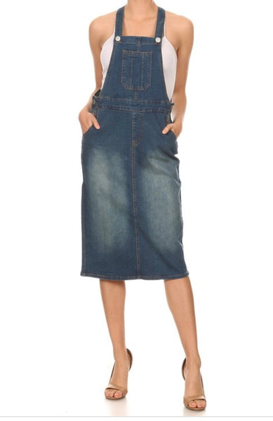 Vintage wash overall