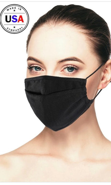 Black 3D Face Mask