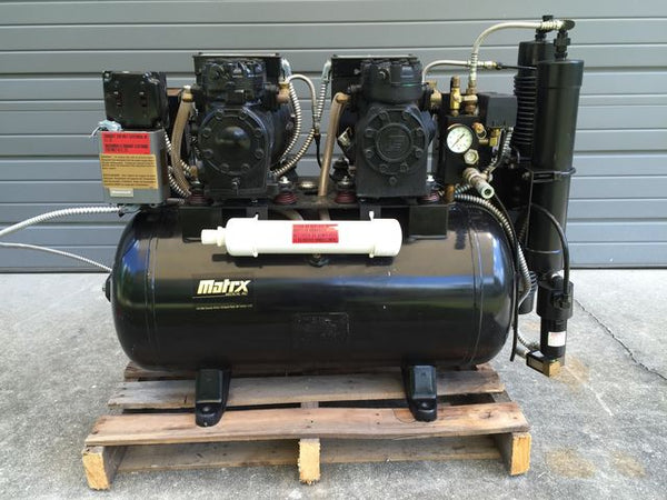 MDS Matrx AMD-100-2 Oil-less Air Compressor 4-6 User Used