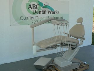 "A-dec 1021 Decade Chair with Radius Delivery Unit ""Refurbished"""