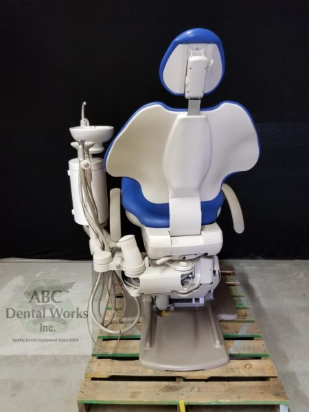 A-dec 511 Dental Chair w Cuspidor & Assistant Arm Attachment