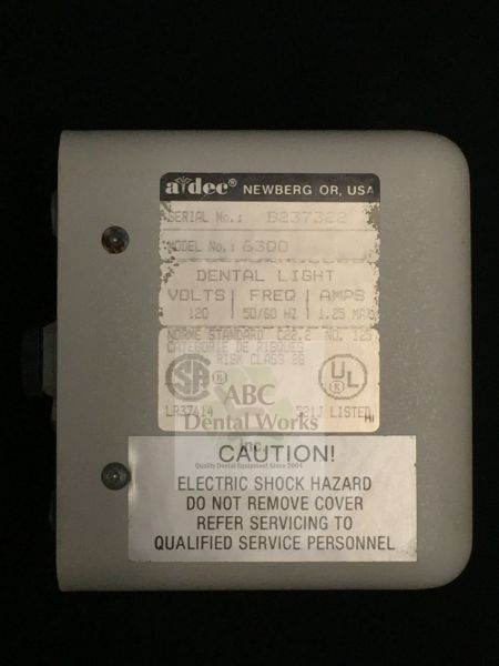 A-dec Transformer for Model 6300 Light
