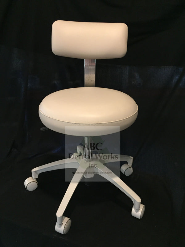 "A-dec Doctor and Assistant Stool Set ""Refurbished"" Old Style"