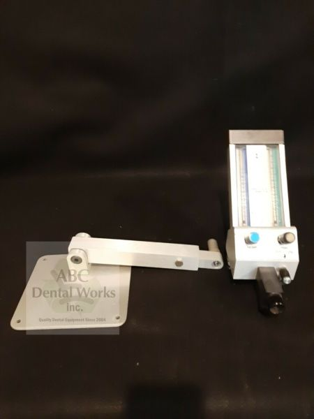 Belmed Nitrous Flowmeter Model 5000 With Cabinet Mount Tested Patient Ready