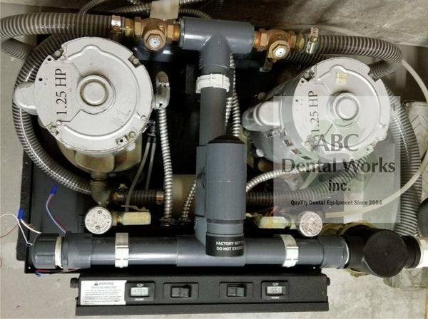 Midmark CV6R Vacuum - 4 to 6 Users - Used