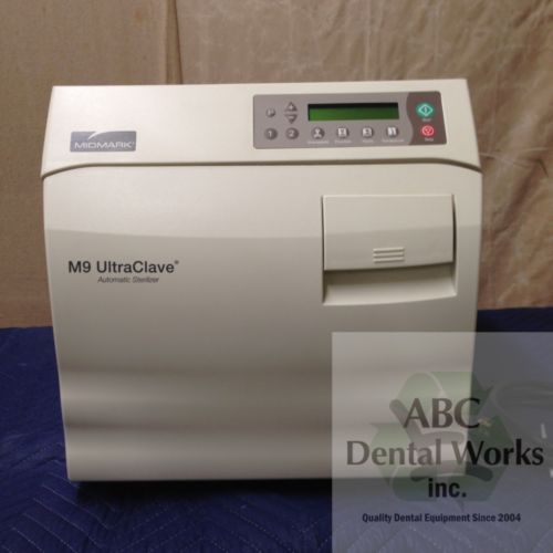 "Midmark / Ritter M9 UltraClave ""New Style"" Automatic Sterilizer Autoclave"