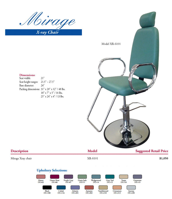 Mirage XR-601 X-Ray Chair
