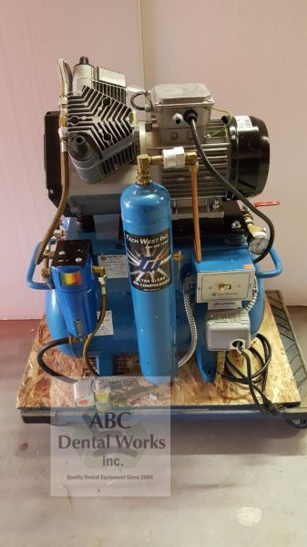 Tech West UltraClean Dual Head Oil-less Compressor - ACOR2D2