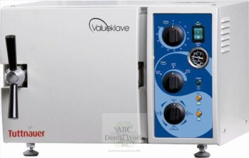 Tuttnauer Valueklave 1730M Manual Autoclave 1 YR Warranty! - NEW