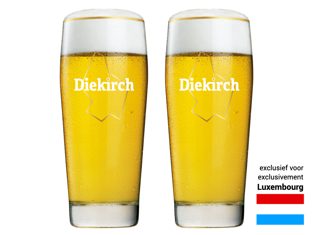 2x Diekirch - 30cl (Lux) - CAFÉ COURAGE - Support your bar