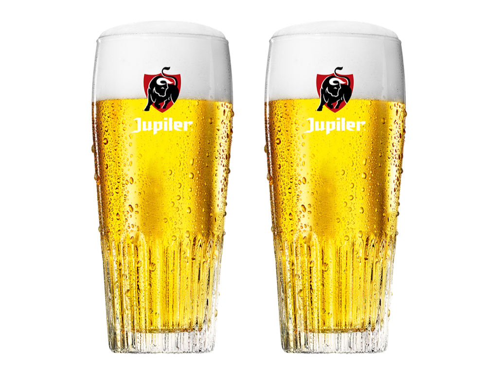 2x Jupiler - 25cl of 30cl - CAFÉ COURAGE - Support your bar