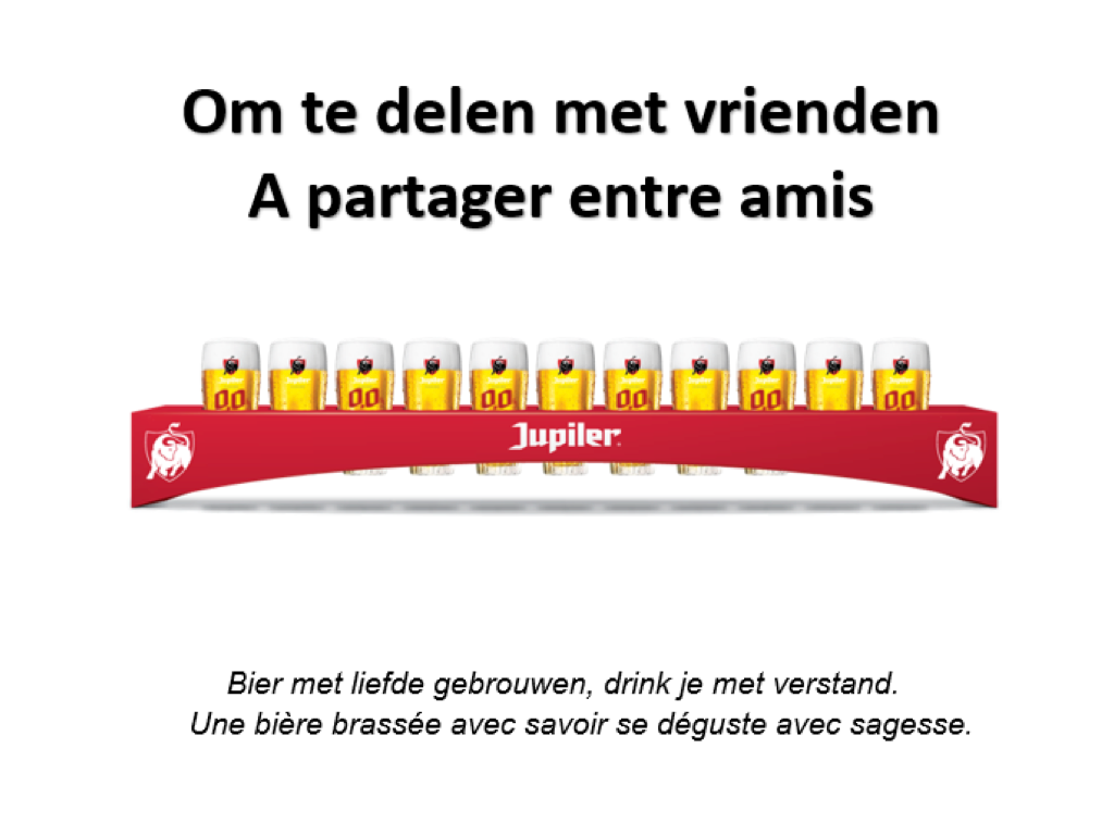 De Jupiler-meter - CAFÉ COURAGE - Support your bar