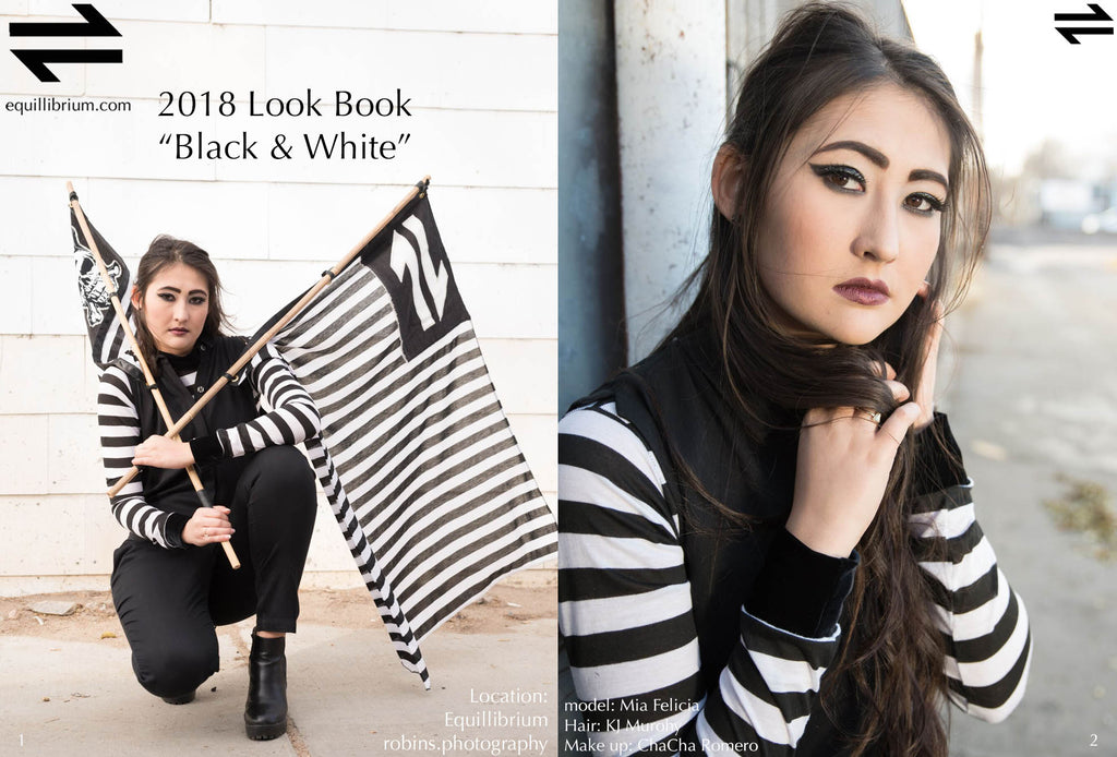"Equillibrium Look Book ""Black & White"""