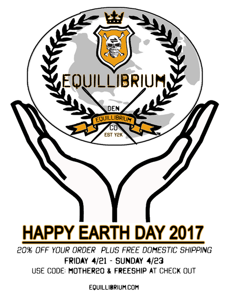 Equillibrium Clothing Earth Day Promo