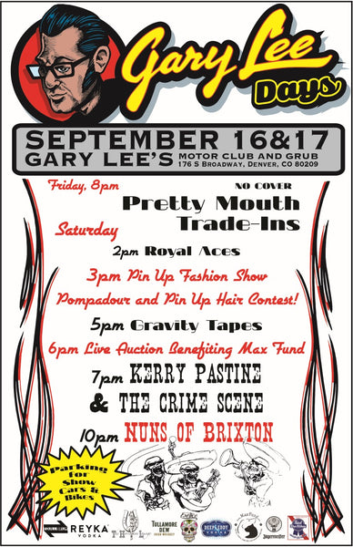 Gary Lee Days 2016 Poster